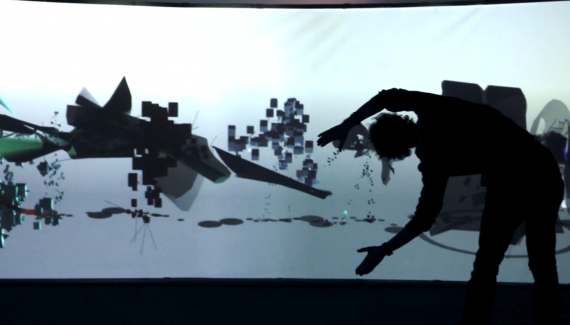 Interactive Installation by Elektropastete @ PLATOON KUNSTHALLE, Berlin